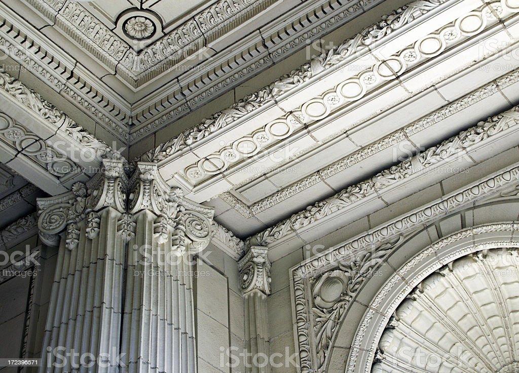 Columns1 stock photo