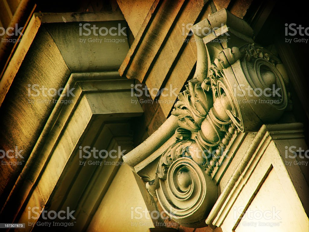 Columns7 royalty-free stock photo