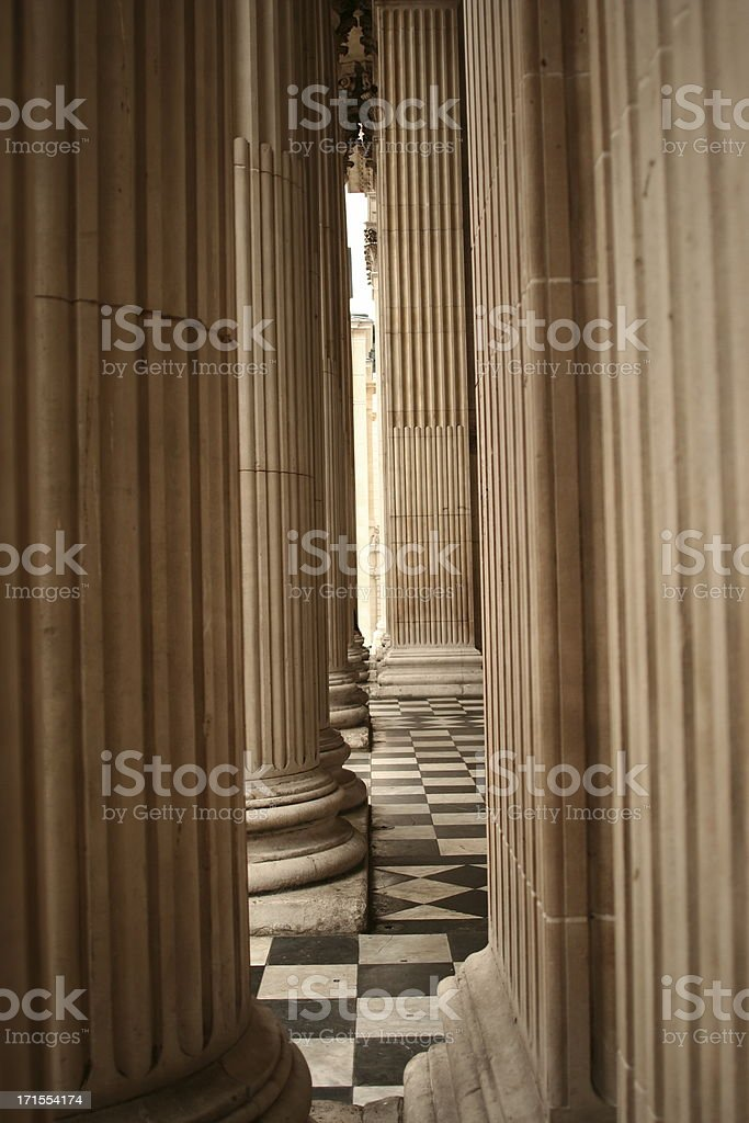 Colums stock photo