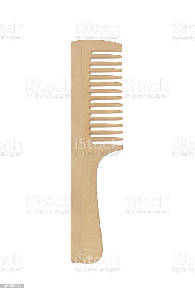 Comb royalty-free stock photo