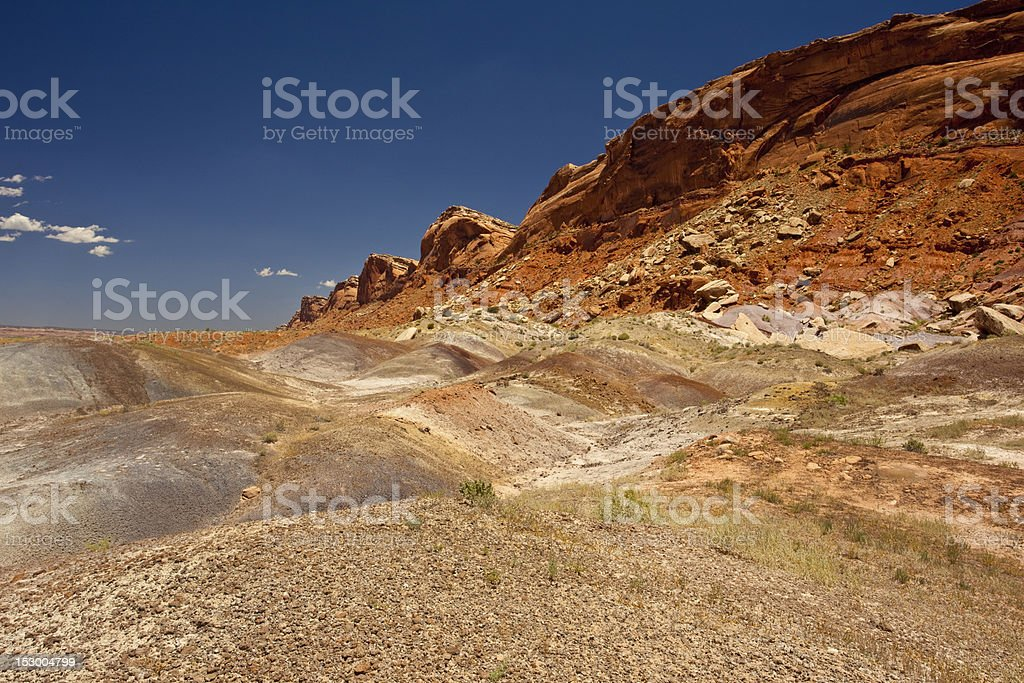Comb Rigde in Southern Utah stock photo