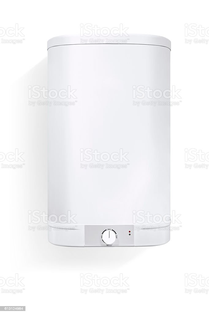 combi boiler(clipping path) stock photo