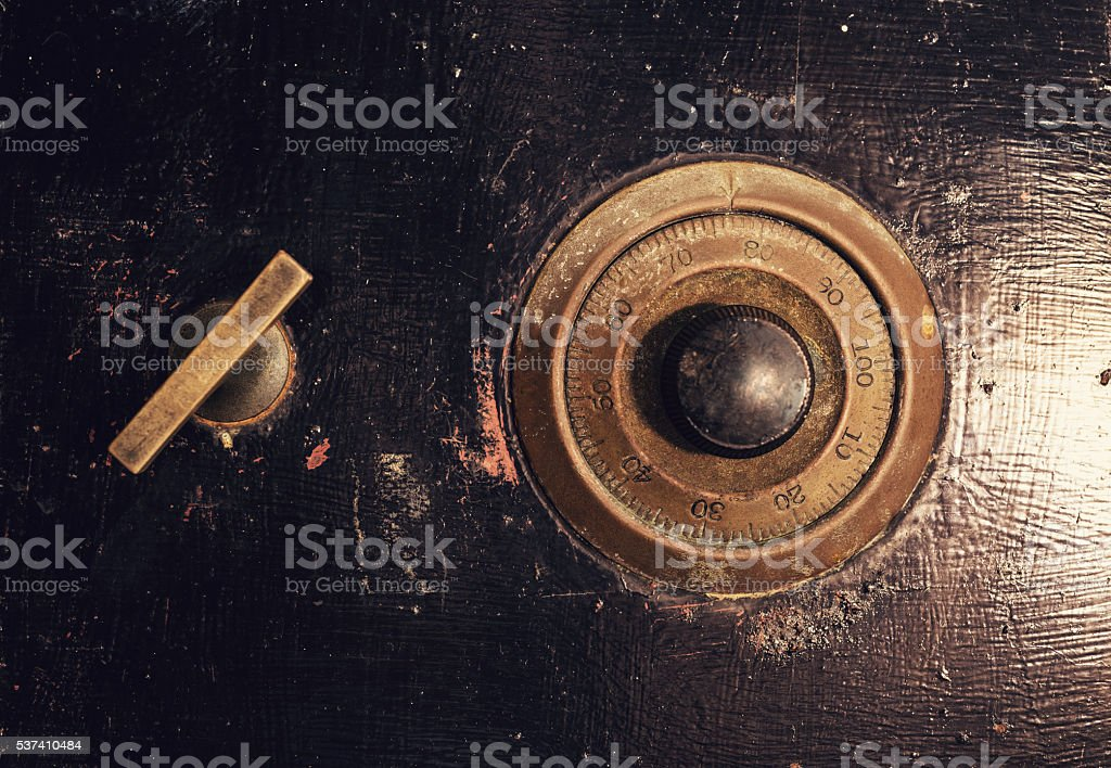 Combination Lock stock photo