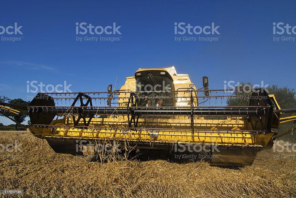 combine harvester II royalty-free stock photo