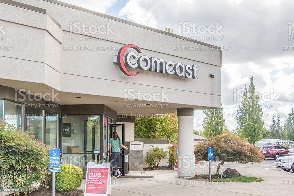 Comcast stock photo