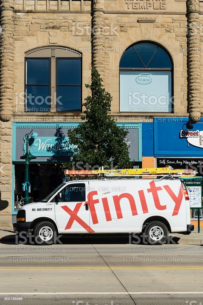 Comcast Xfinity stock photo