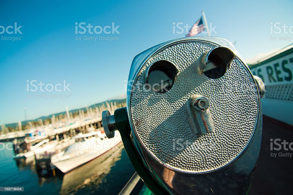 Come and see in colour royalty-free stock photo