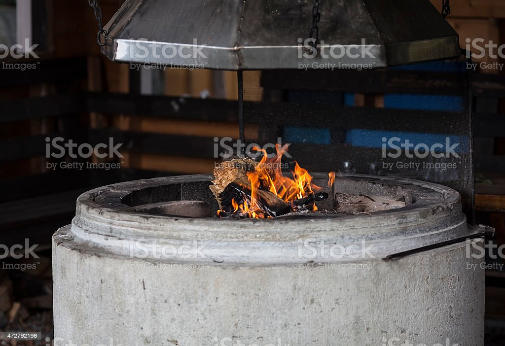 Come and warm your self royalty-free stock photo
