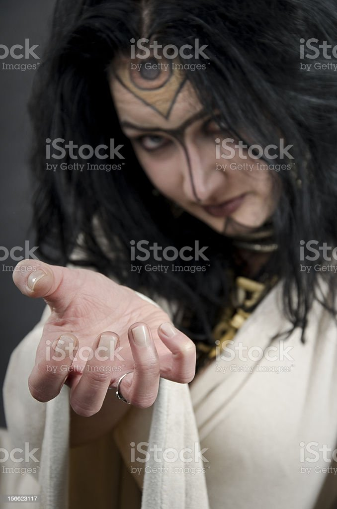 Come here, you naughty! royalty-free stock photo