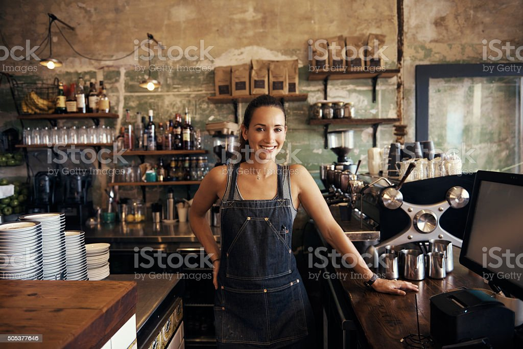 Come in, make yourself at home stock photo