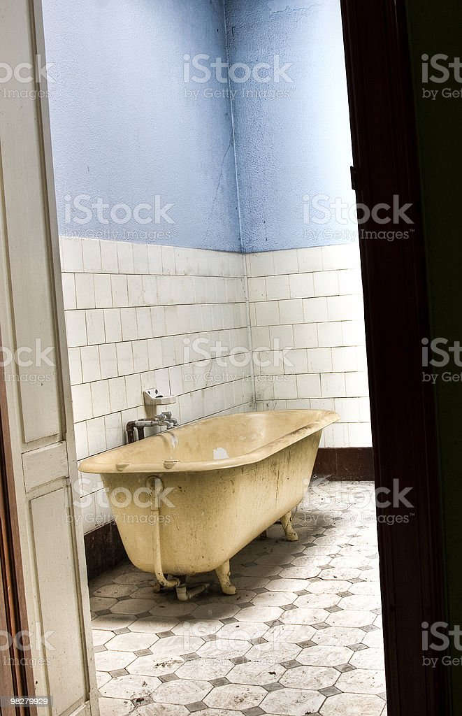 Come inside... stock photo