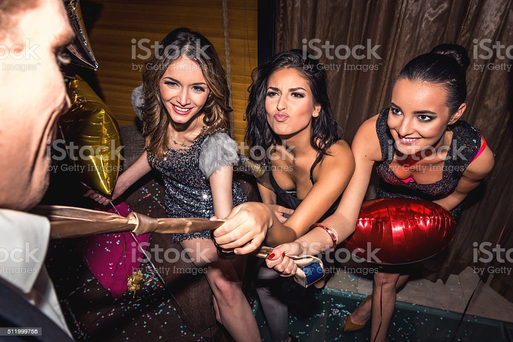 Come join the party stock photo