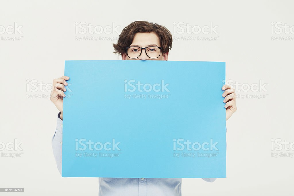Come on over and put your copy here! royalty-free stock photo