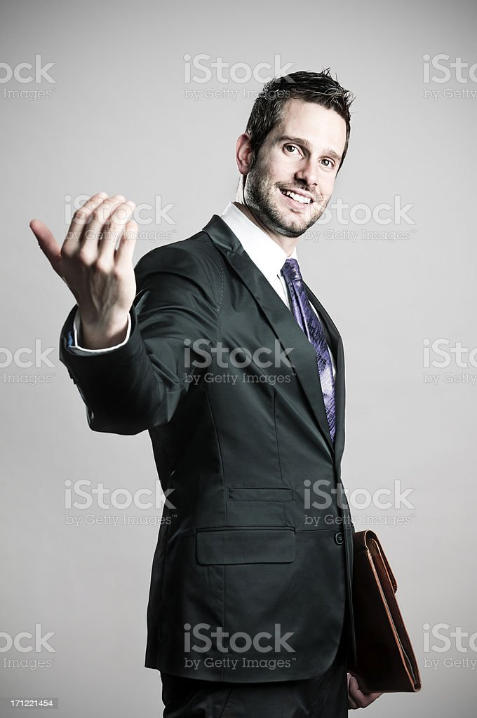 Come on royalty-free stock photo