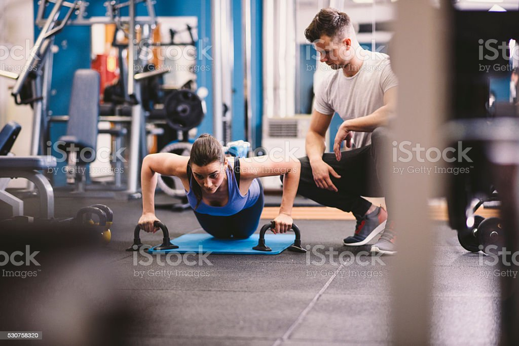 Come on, you can do it! stock photo