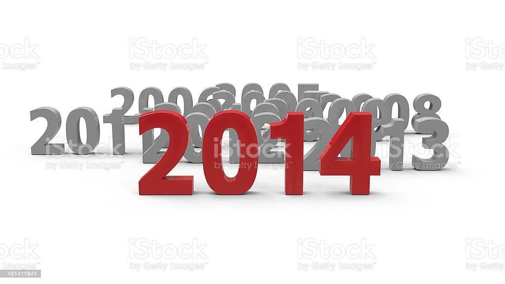2014 come stock photo