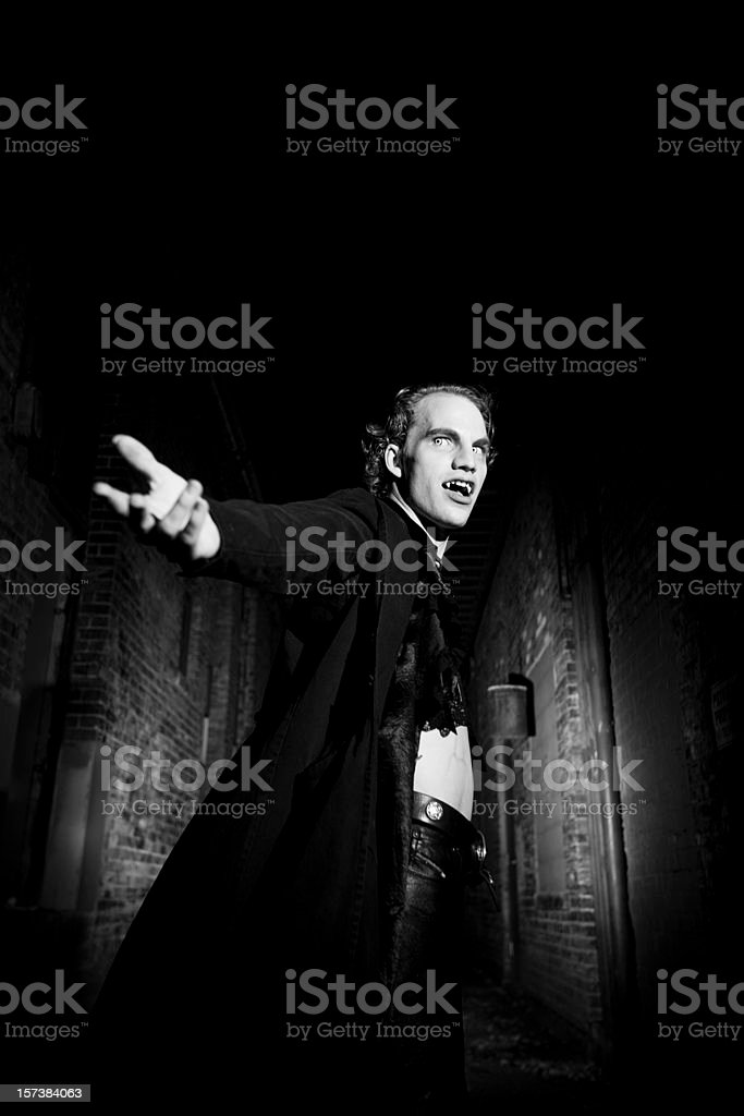 Come to Dracula stock photo