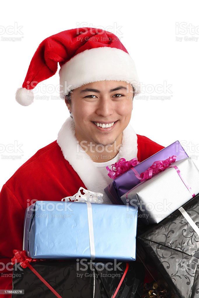 I come with gifts! royalty-free stock photo