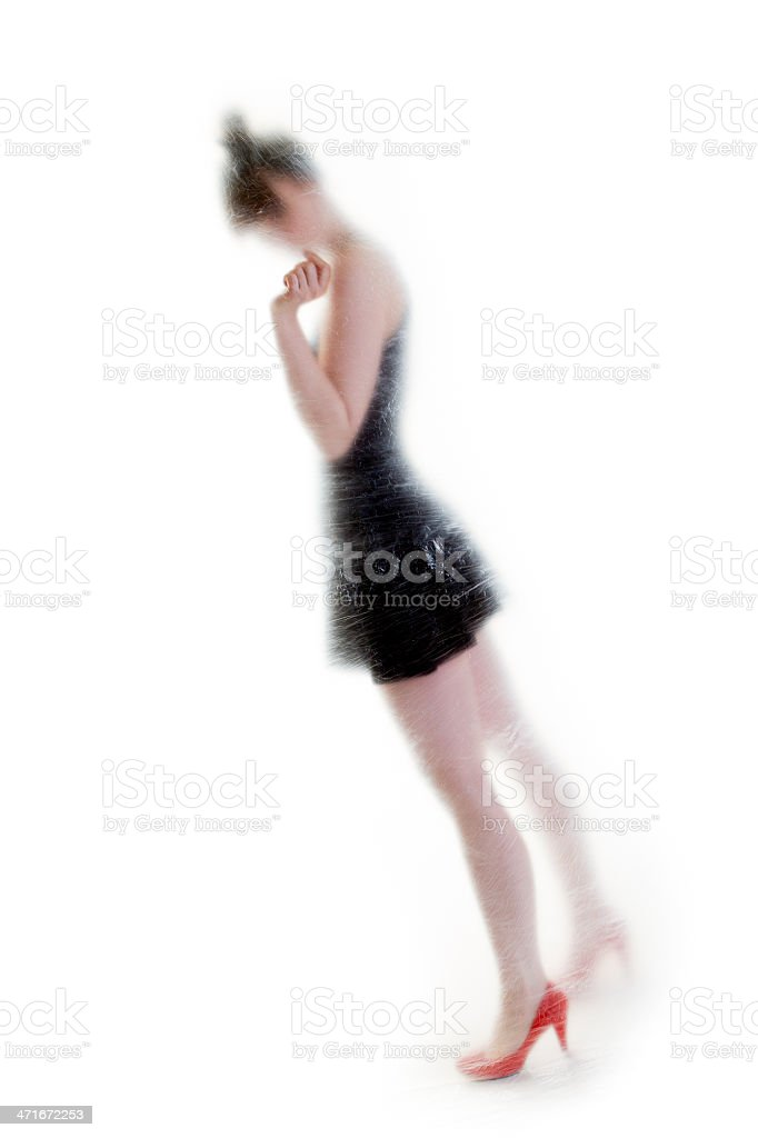 Come with me royalty-free stock photo