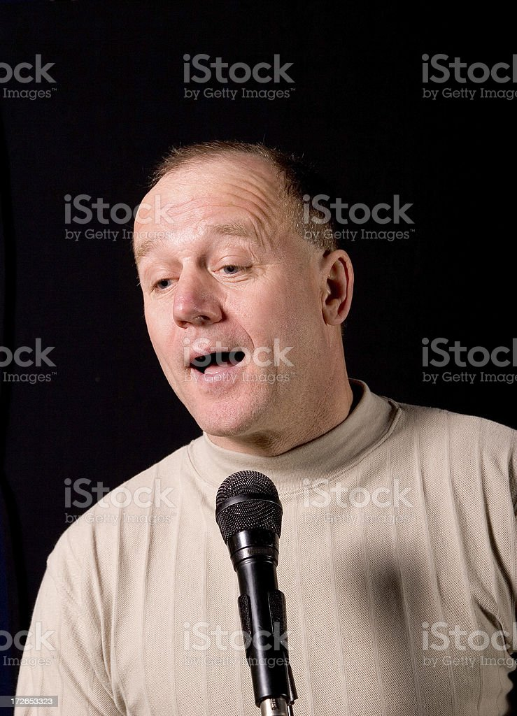 Comedian # 2 royalty-free stock photo