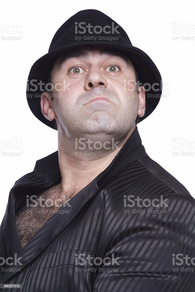 comedian royalty-free stock photo