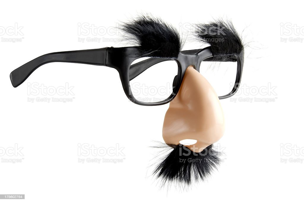 Comedy Disguise royalty-free stock photo