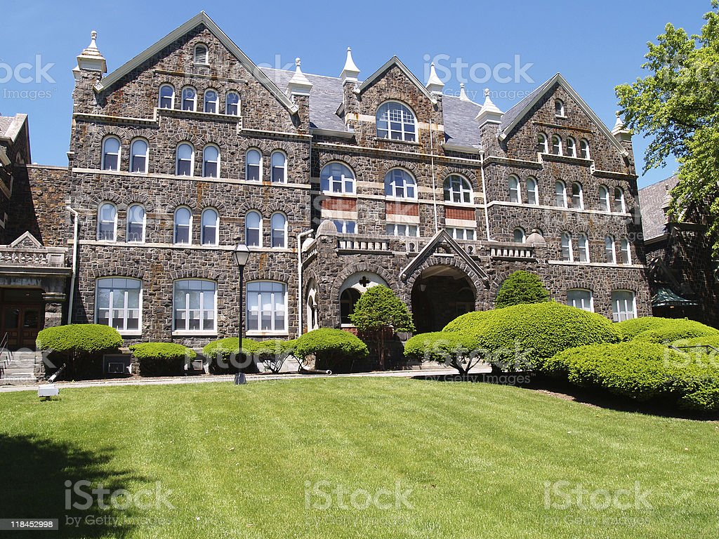 Comenius Hall, Moravian College, Bethlehem, PA stock photo