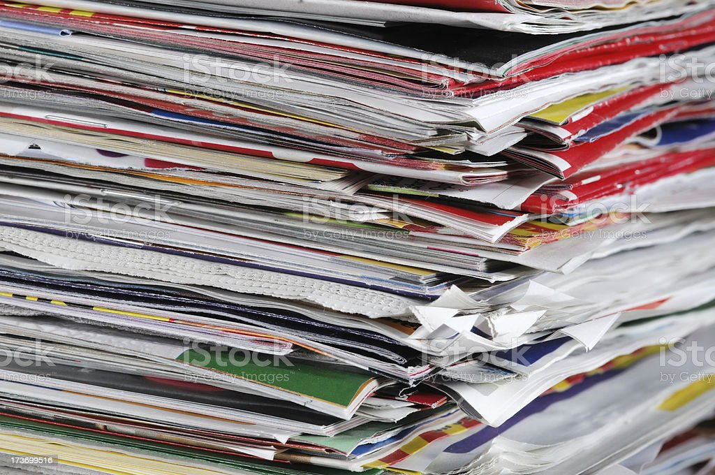 Comercials royalty-free stock photo