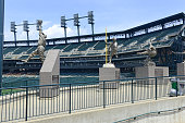Comerica Park baseball park in Detroit Michigan