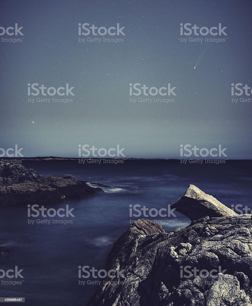 Comet Ison stock photo