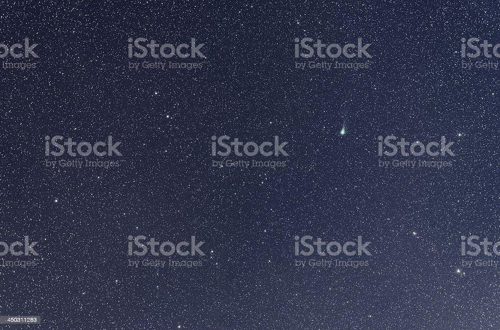 Comet Lovejoy stock photo