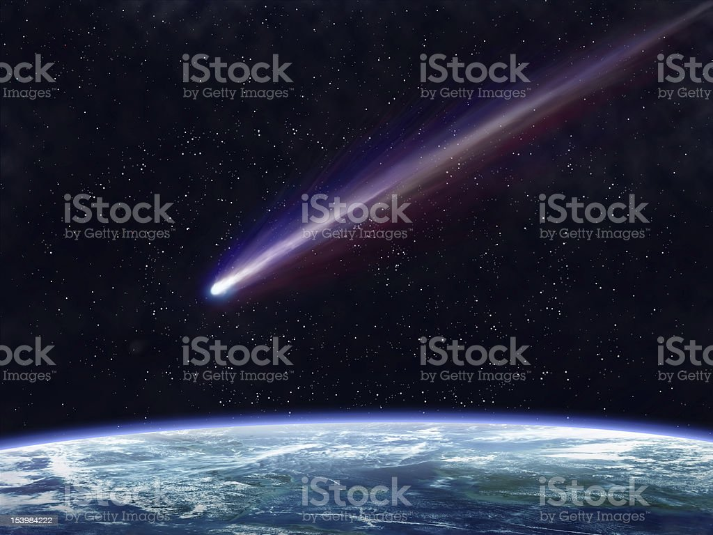 Comet royalty-free stock photo
