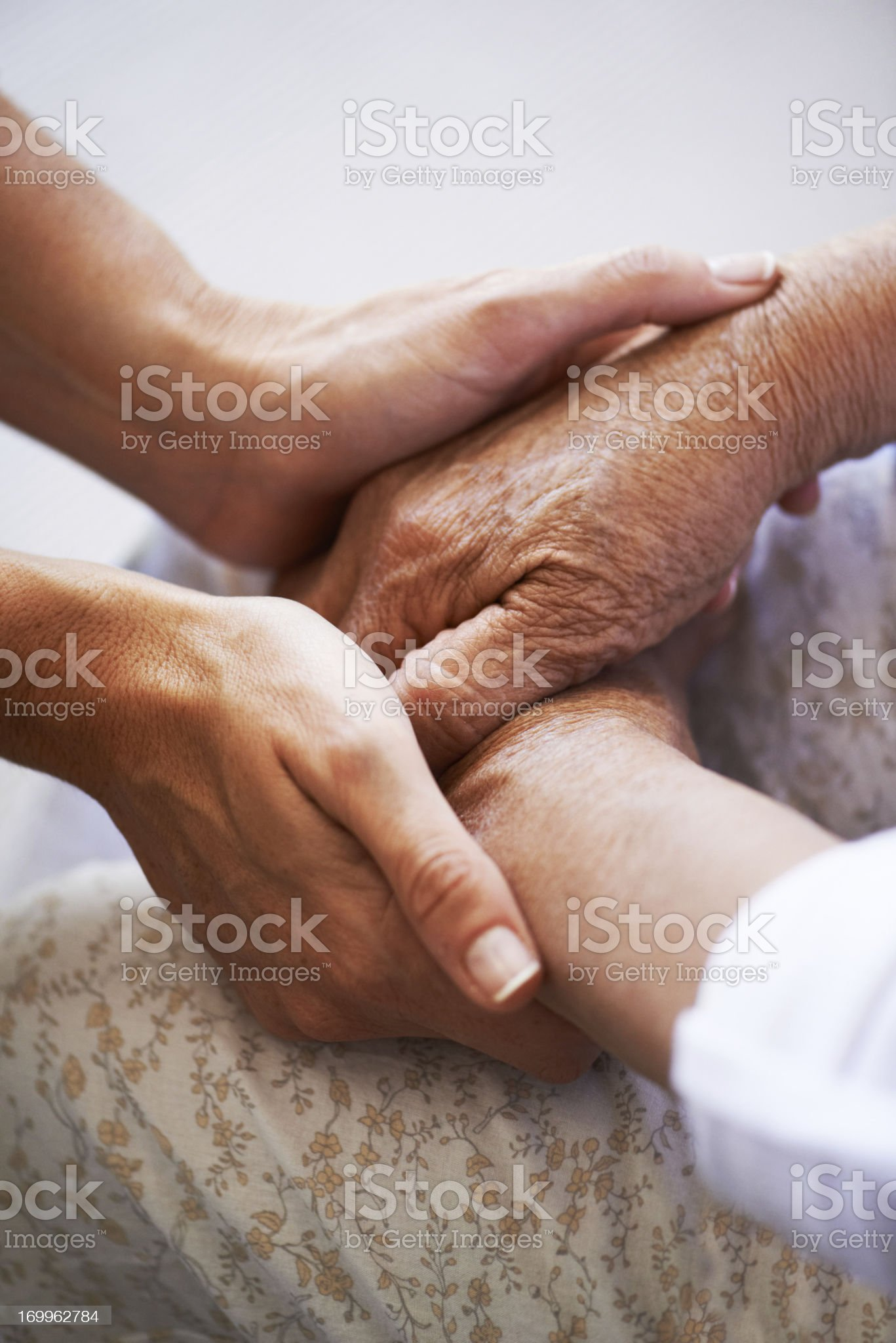 Comfort and support royalty-free stock photo
