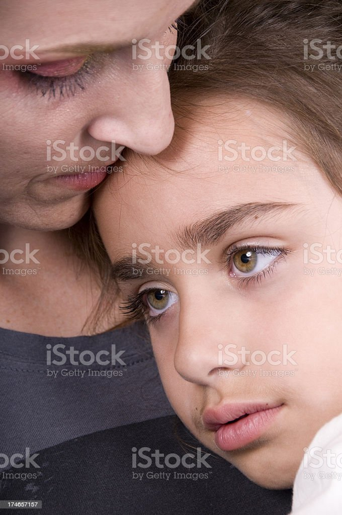 Comfort of Mother stock photo