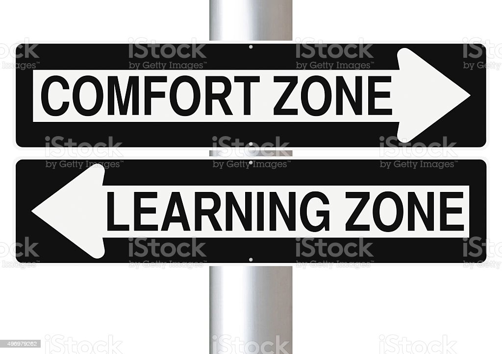 Comfort or Learning stock photo