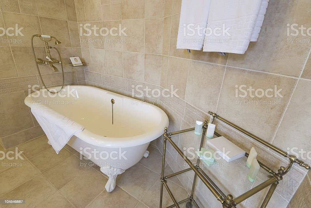 comfortable bathroom royalty-free stock photo
