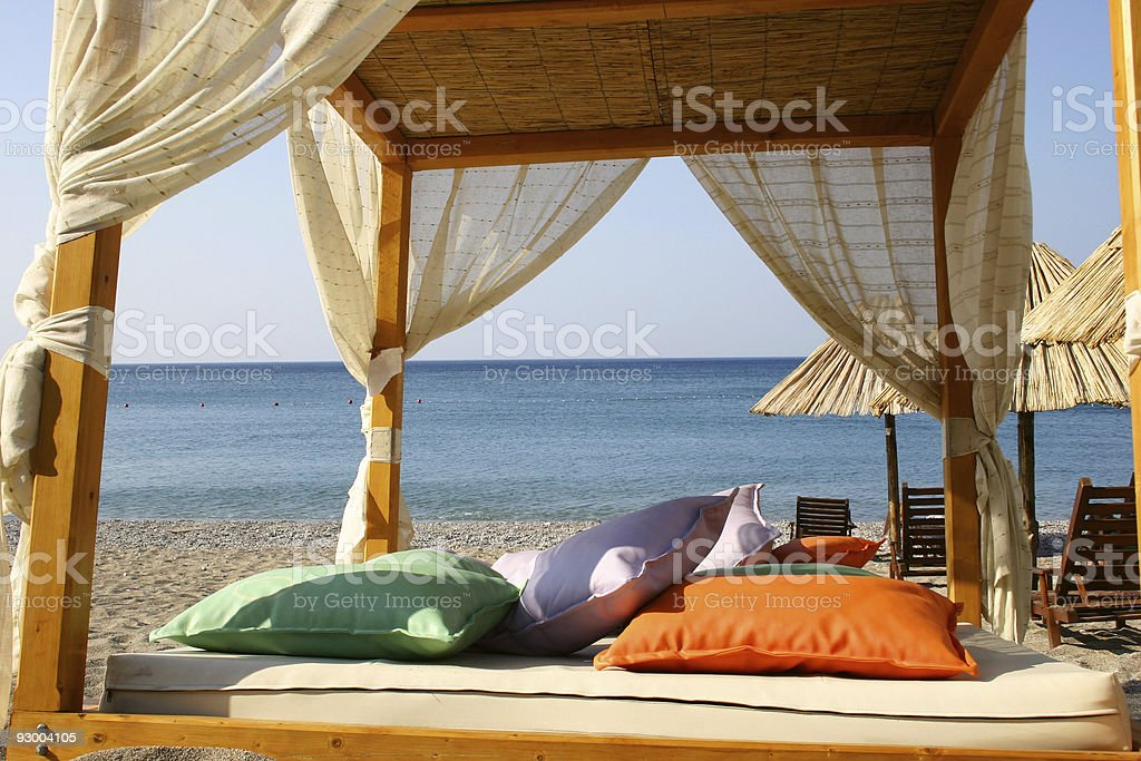 Comfortable Beach stock photo