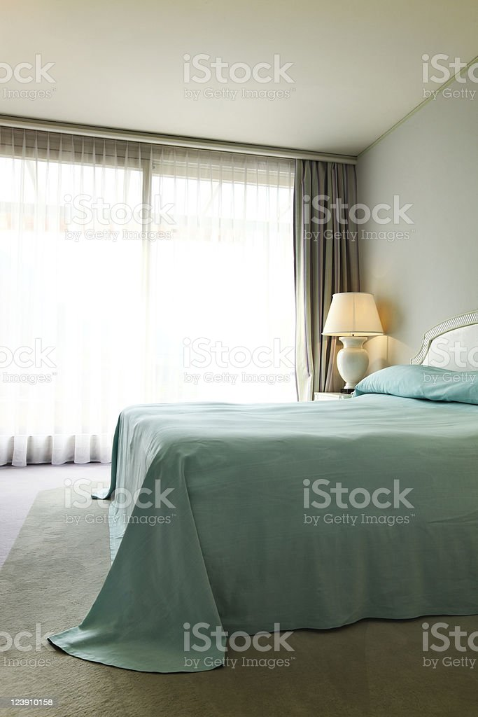 comfortable bedroom royalty-free stock photo