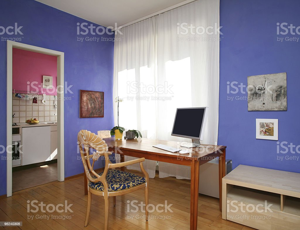 comfortable flat royalty-free stock photo
