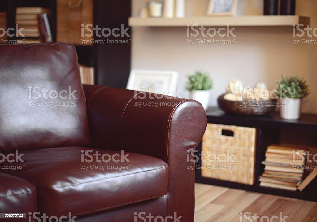 comfortable home interior stock photo