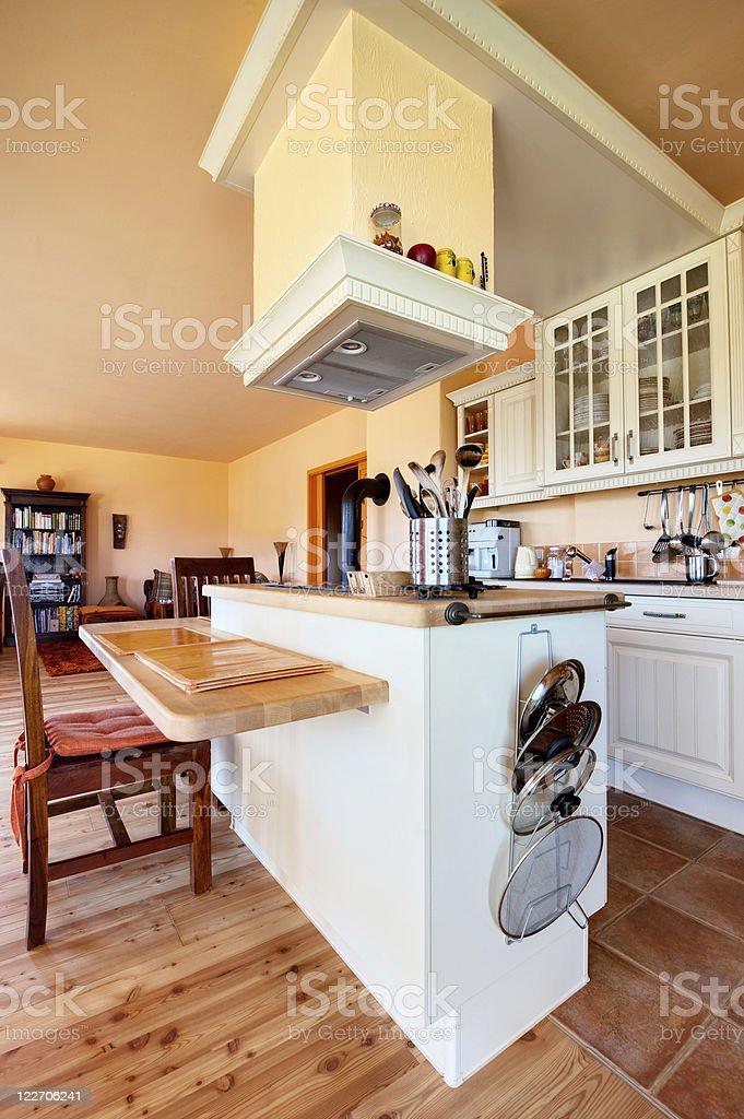 Comfortable Kitchen royalty-free stock photo