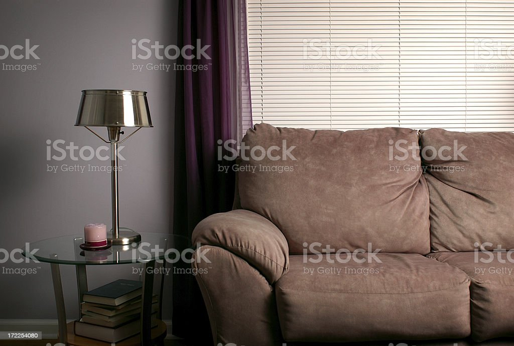Comfortable Living Room royalty-free stock photo