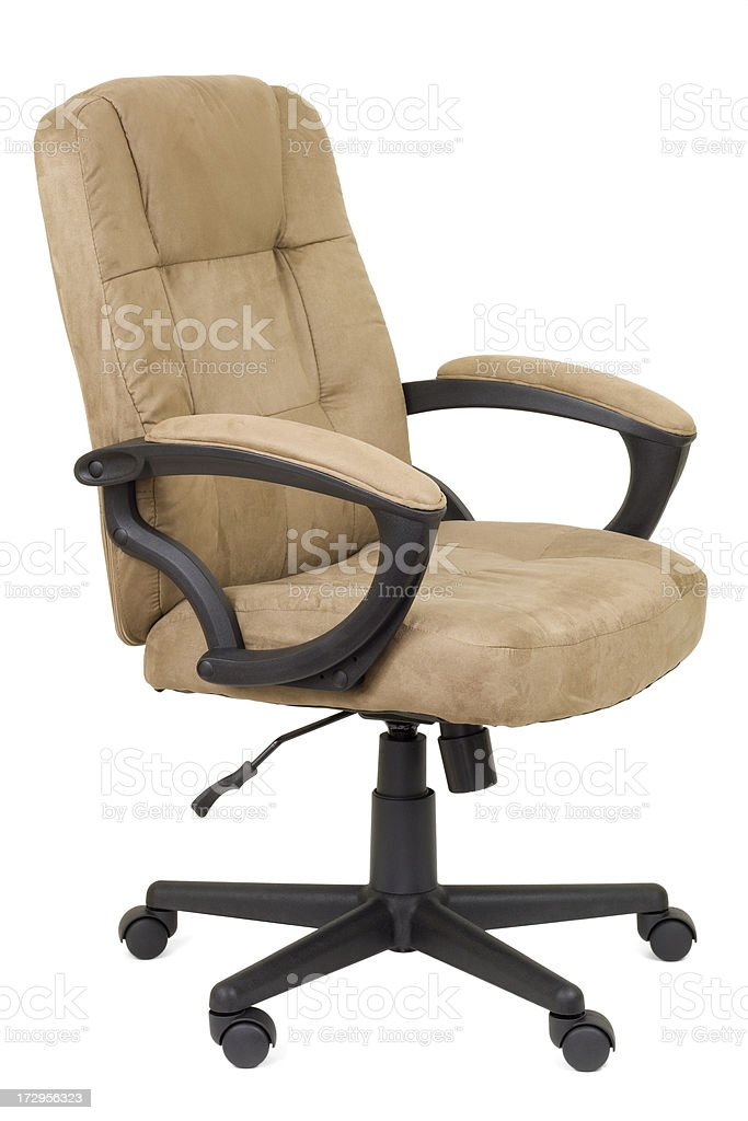 Comfortable Office Desk Chair royalty-free stock photo