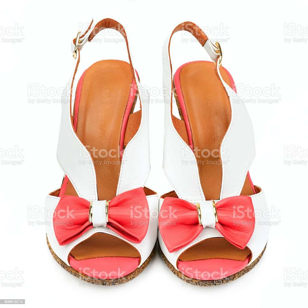 comfortable sandals stock photo