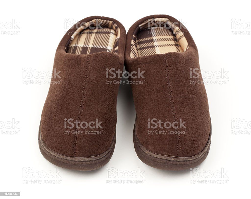 Comfortable Slippers royalty-free stock photo