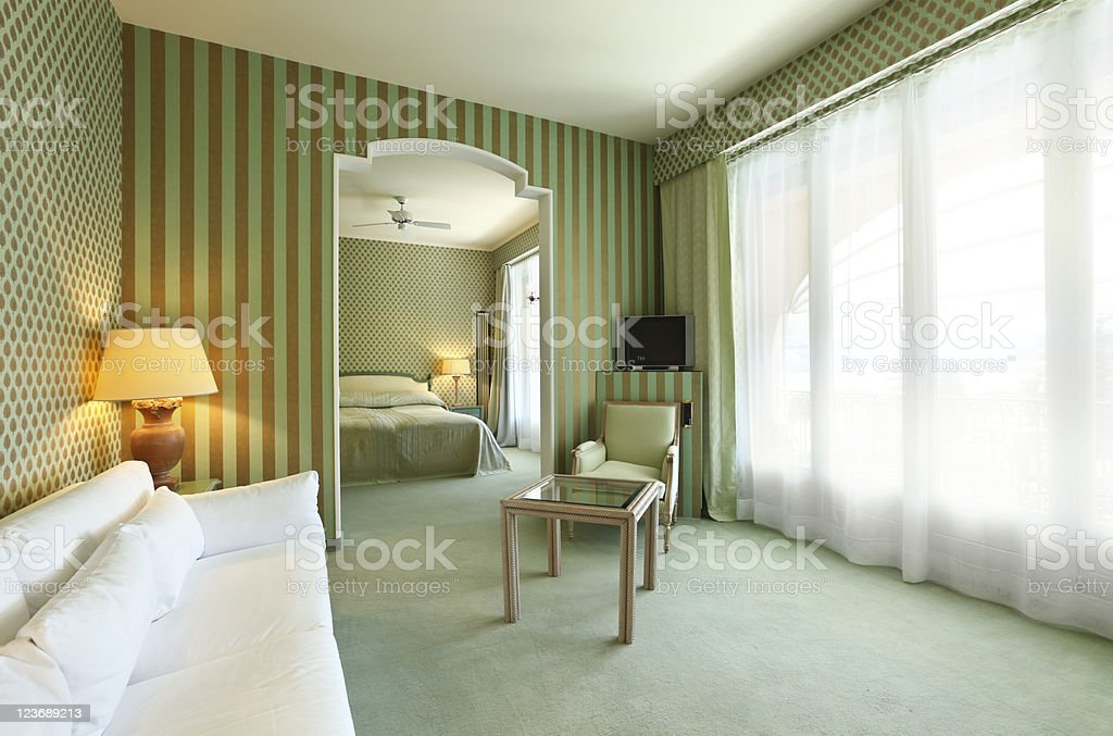 comfortable suit , lounge royalty-free stock photo