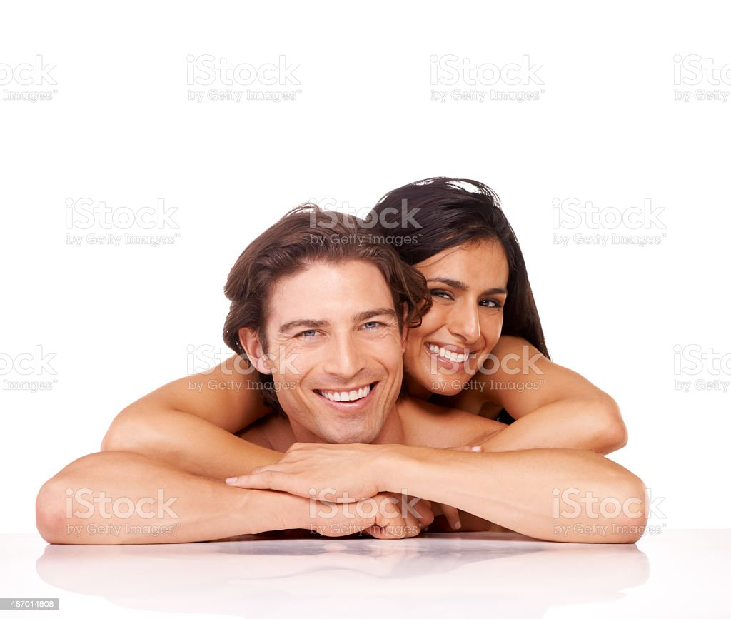 Comfortable with each other stock photo