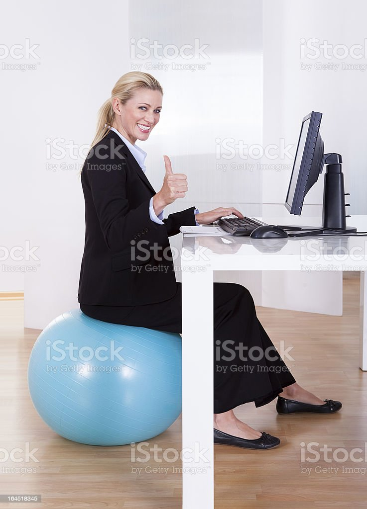 Comfortable working environment royalty-free stock photo