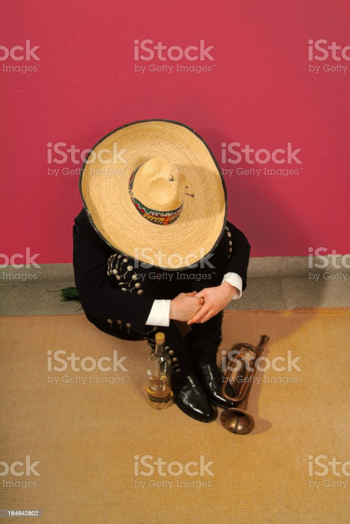 Comfortably Numb stock photo
