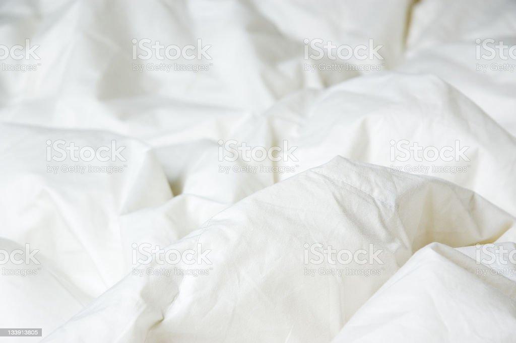 Comfy Comforter stock photo